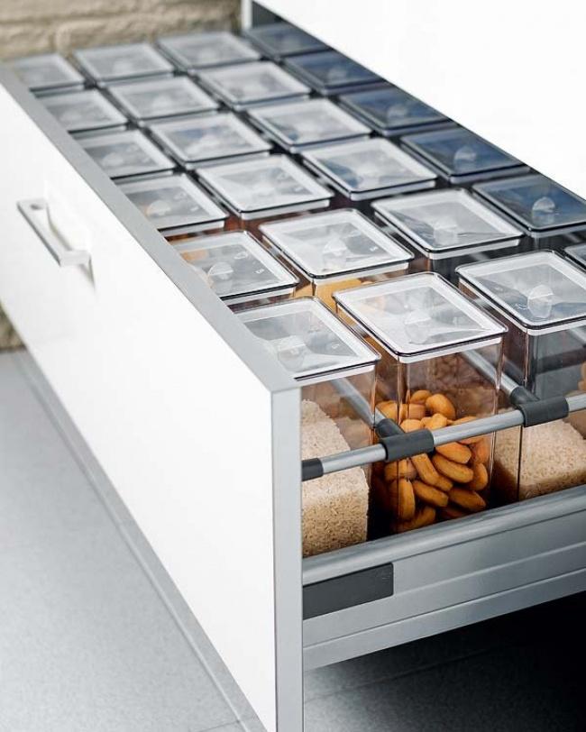 16 способов сэкономить место на кухне