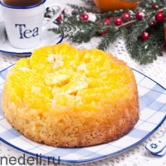 Итальянский апельсиновый пирог