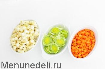 Суп овощной на