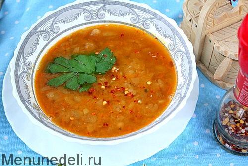 суп из фасоли сушеной рецепты просто