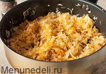 Макароны с капустой рецепт с фото пошагово