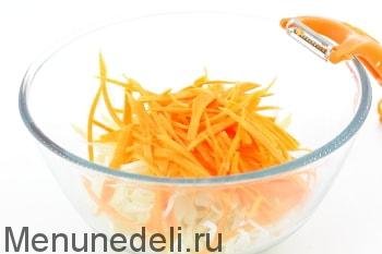 Рецепт салата с редькой и огурцом