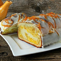 Миндально-апельсиновый кекс