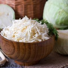 Как заморозить белокочанную капусту