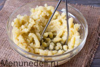 Картофельные лепёшки с зеленью рецепт с фото