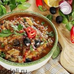 Мелидзана-салат