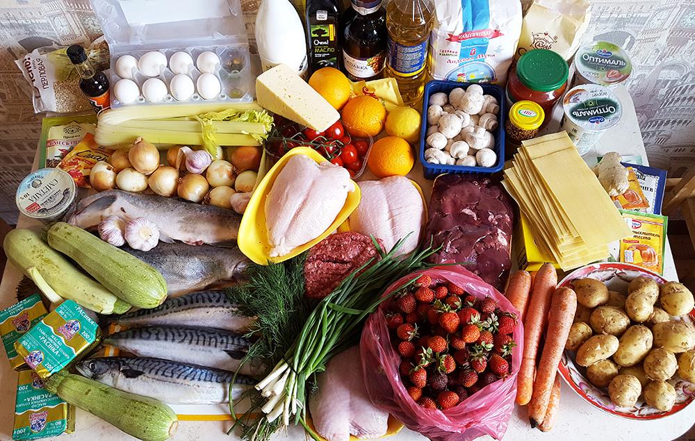 как готовить на неделю вперед правильное питание