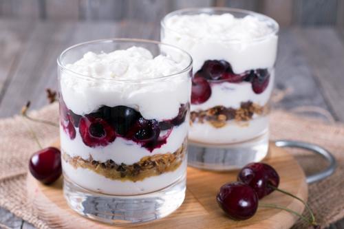 Как сделать йогурт слоями