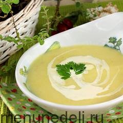 Вишисуаз - суп из лука-порея и картофеля