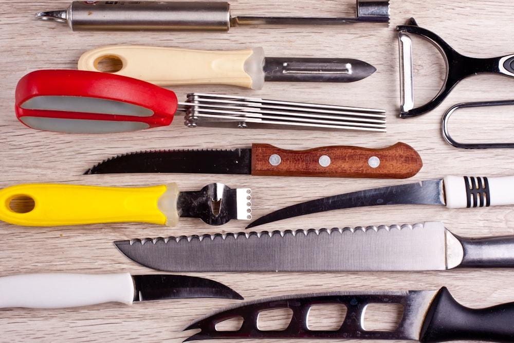 Специальные ножи для салатов