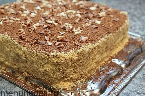 рецепт армянского торта птичье молоко