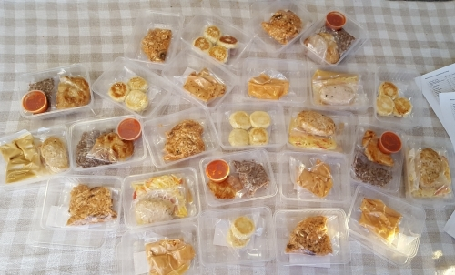 Меняю деньги на время: доставка еды по меню