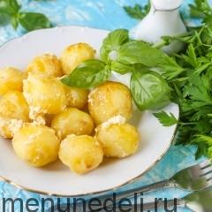 Картофель, запеченный в сметане, как в детском саду