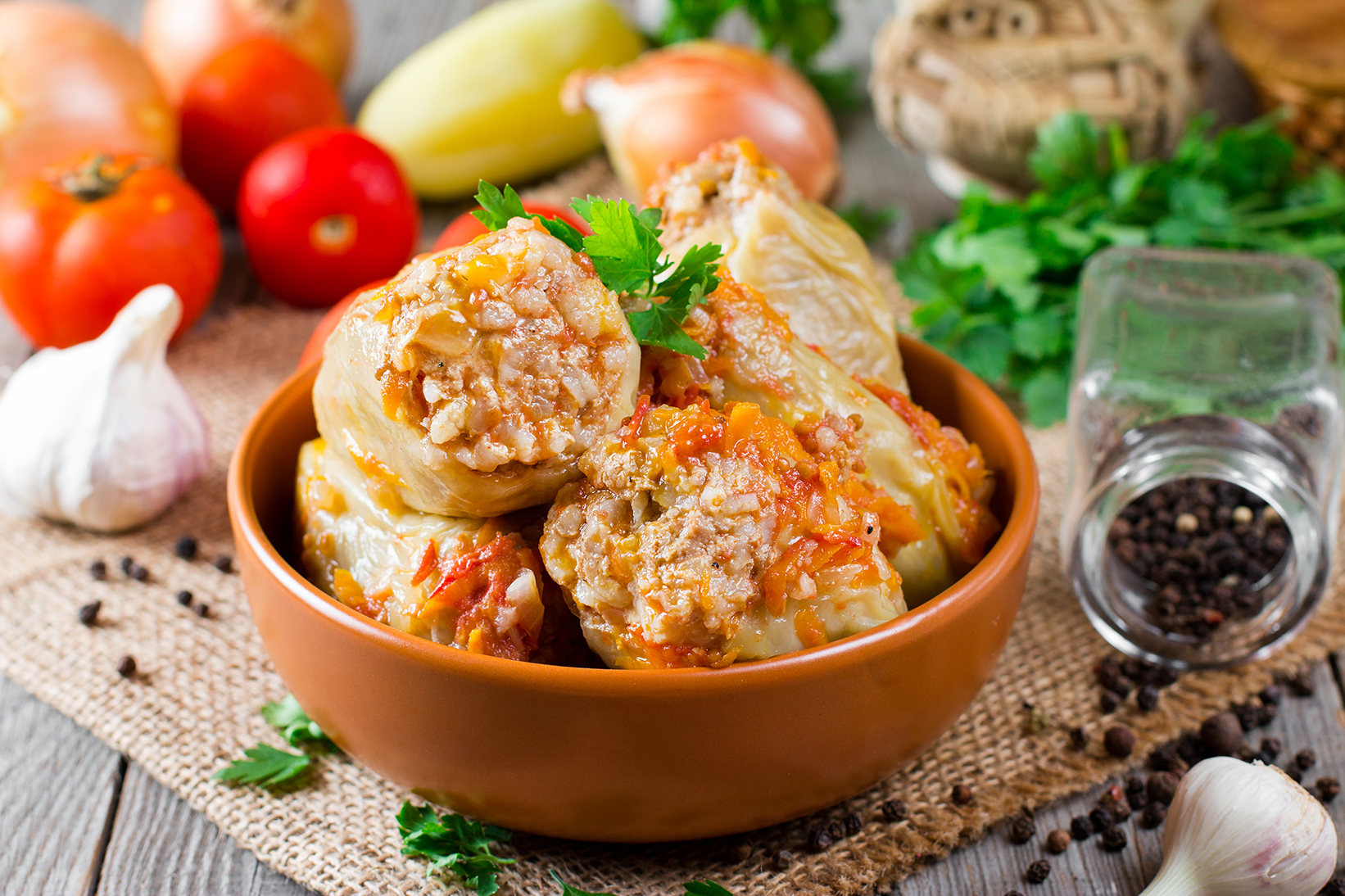 фаршированный перец рецепт для заморозки