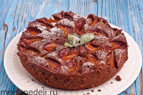 сливовый пирог из мультиварки рецепты