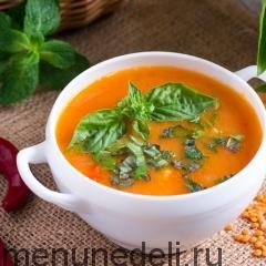 Турецкий суп с булгуром и чечевицей