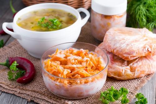 Как заморозить универсальную заправку для супа