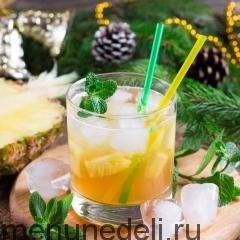 Имбирно-ананасовый пунш
