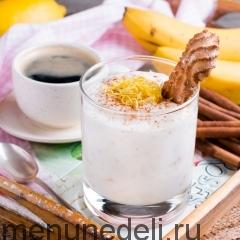Крем из бананов и йогурта
