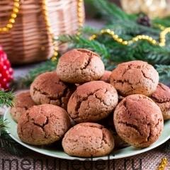 Пряничное печенье с какао