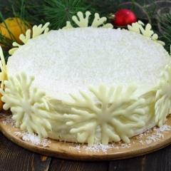 Торт «Зима»