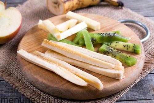 Сладкие роллы из блинов - домашний пошаговый рецепт