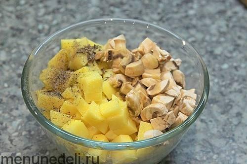 Картофельные гнезда с котлетой - рецепт пошаговый с фото