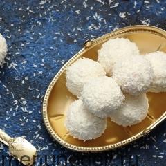 Творожно-кокосовые конфеты