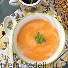 Суп-пюре из картофеля как в детском саду