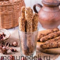 Орехово-сахарные чайные палочки
