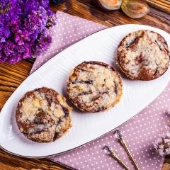 Мини-пироги со сливами