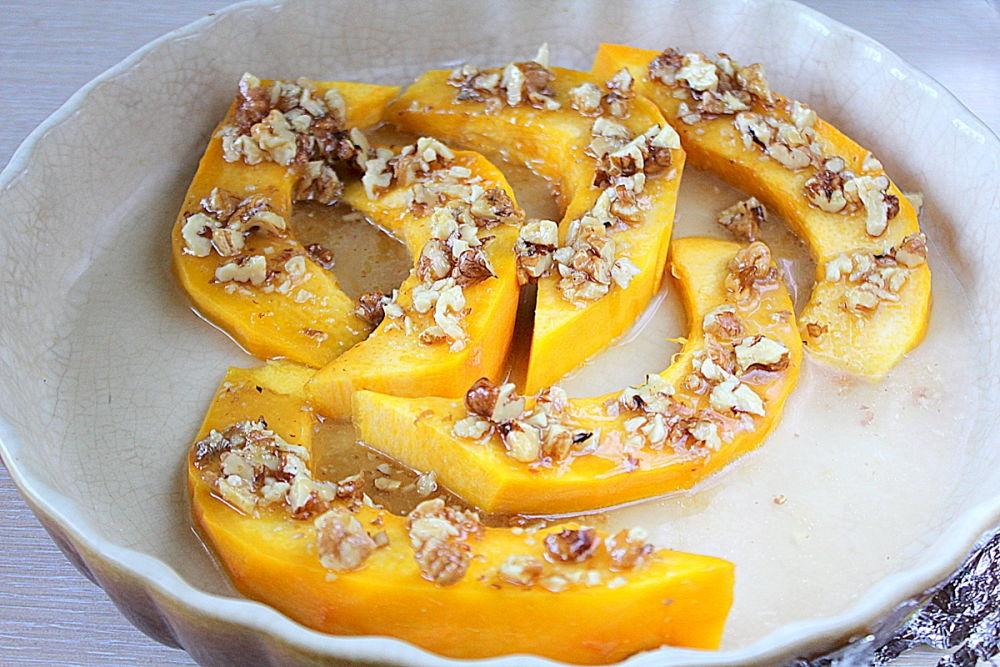 Тыква с медом, запеченная в духовке – 7 рецептов