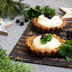 Ореховые тарталетки с рикоттой