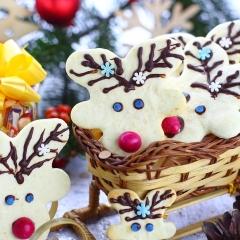 Печенье «Рождественские олени»