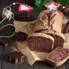 Шоколадно-имбирный кекс