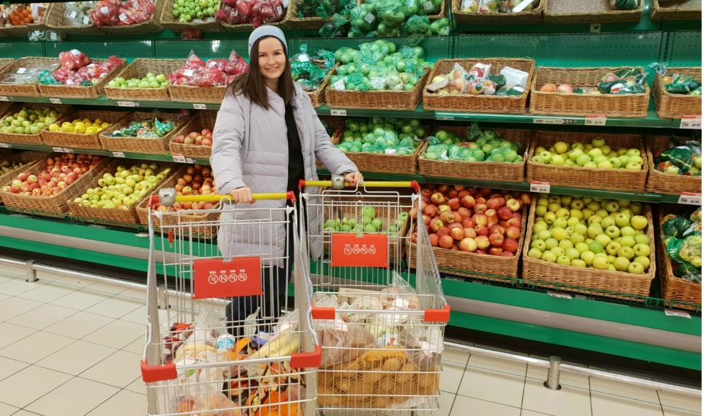 Семейный эксперимент: рост цен на продукты