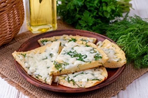 Рисоблин с сыром