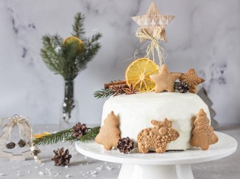 Имбирный торт с апельсиновым мармеладом