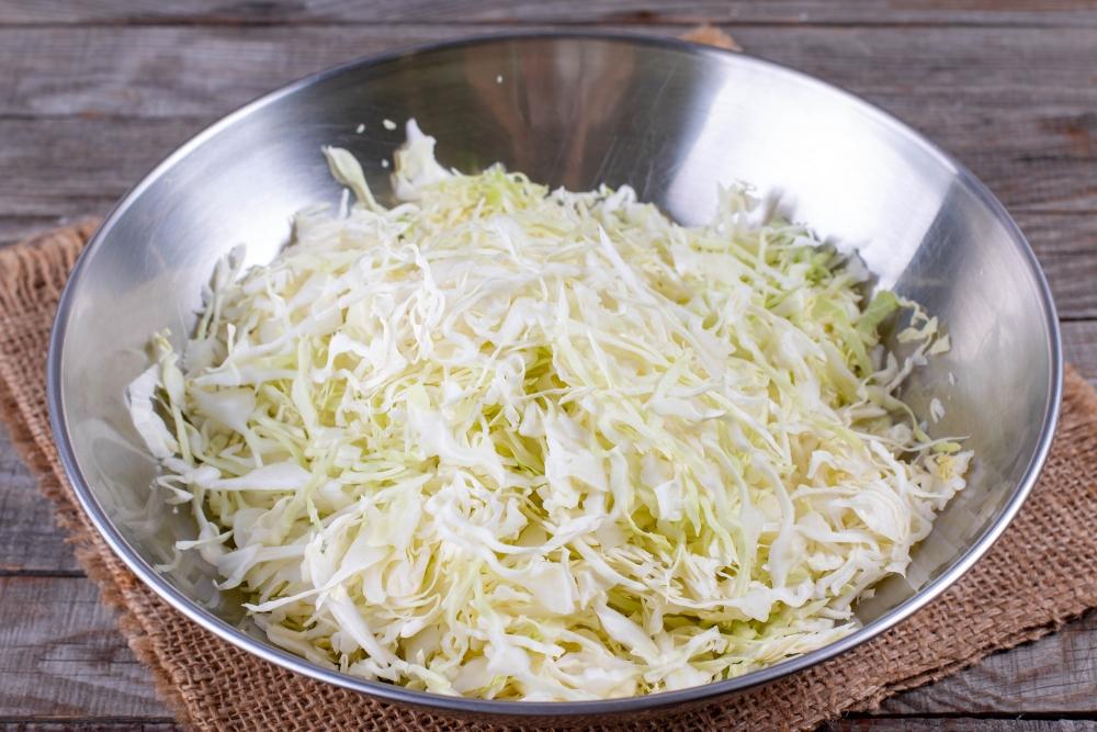 Тушёная капуста с шампиньонами: простой пошаговый рецепт приготовления с фото