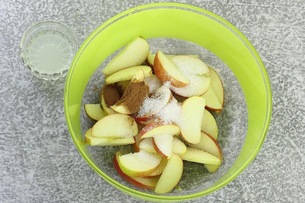 Печенье с творогом и яблоками - 12 пошаговых фото в рецепте