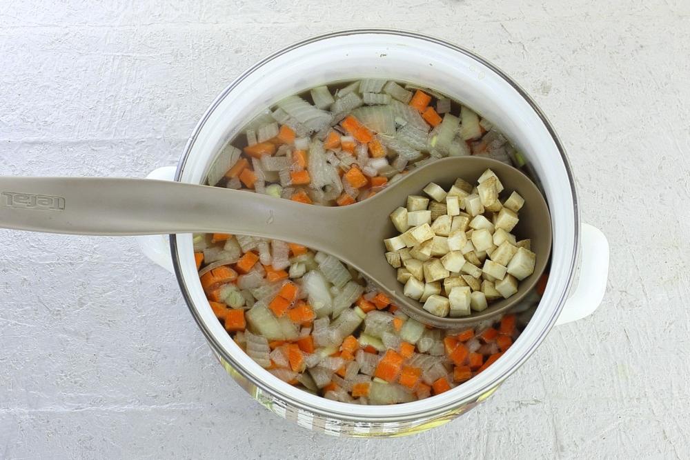 Грибной крем-суп из шампиньонов от Шефмаркет