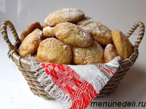 Рецепт бабушкиного печенья на маргарине