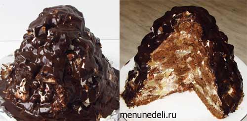 Как пригтовить торт Санчо Панчо