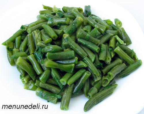 Как приготовить зеленую стручковую фасоль