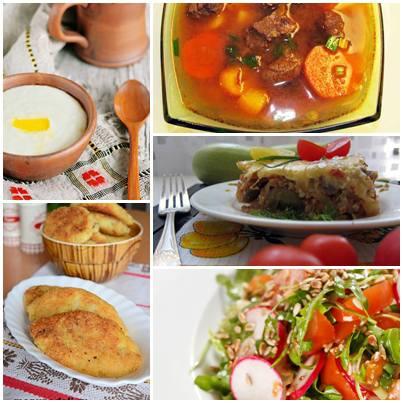 манная каша с изюмом суп гуляш картофельные зразы с грибами рататуй с рисом и овощами салат с рукколой и редисом