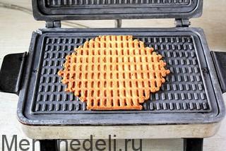 Как печь вафли в вафельнице рецепт пошаговый