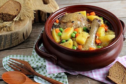 Курица в горшочках рецепты приготовления