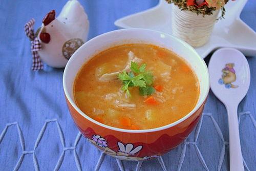 Суп харчо в детском