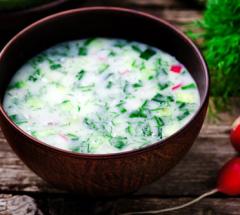 Окрошка на кефире - классический рецепт