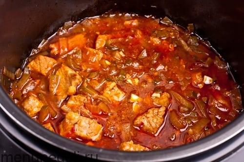 Как вкусно приготовить говядину а мультиварке